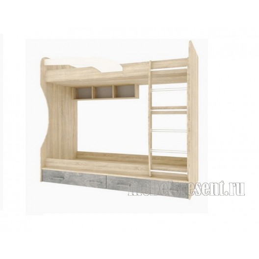 Кровать двухъярусная «Колибри» Лофт