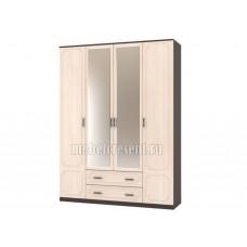 Шкаф «Венеция ШР 4» Венге – Дуб молочный