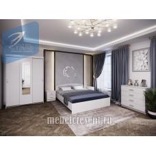 Модульный спальный гарнитур «Белая спальня»