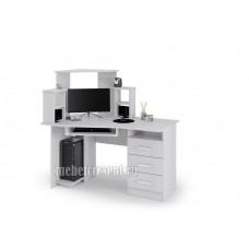 «Стол компьютерный №1» Ясень Анкор светлый