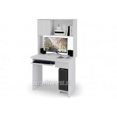 «Стол компьютерный №2» Ясень Анкор светлый