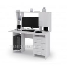 «Стол компьютерный №5» Ясень Анкор светлый