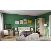 Модульный спальный гарнитур «Лирика». Композиция №1