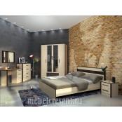 Модульный спальный гарнитур «Лирика». Композиция №2