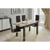 Стол обеденный раскладной 1100х700 «Бруно» Венге - Плитка