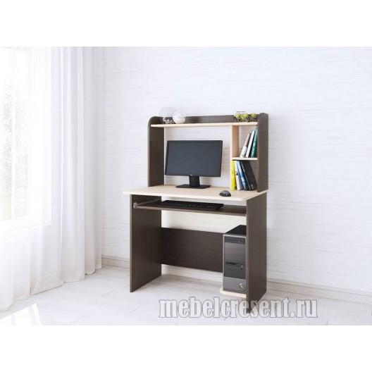 Стол компьютерный «Грета 2» Венге - Дуб молочный
