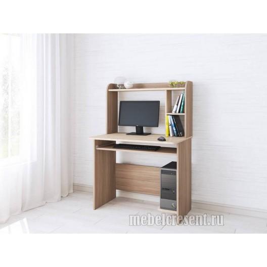 Стол компьютерный «Грета 2» Ясень шимо - Дуб сонома