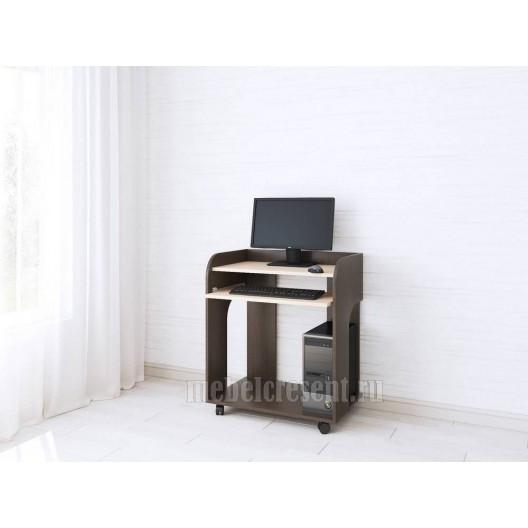 Стол компьютерный «Грета 10» Венге - Дуб молочный