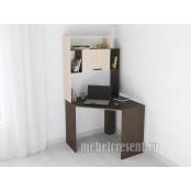 Стол компьютерный «Квартет 12» Венге - Дуб молочный