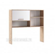 Надстройка для стола «Бланка» Дуб Сонома - Белый