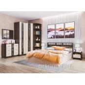Модульный спальный гарнитур «Эрика». Композиция №1