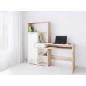 Стол компьютерный «Квартет 8» Дуб сонома - Белый