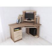 Стол компьютерный «Грета 7» Ясень шимо - Дуб сонома