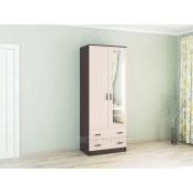 Шкаф комбинированный с зеркалом «Лагуна 0.8»