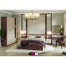 Модульный спальный гарнитур «Гармония» Шимо светлый - Шимо тёмный