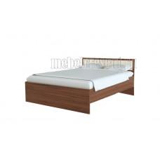 Кровать 0.9 «Симфония» с матрасом Askona. Шимо светлый - Шимо тёмный