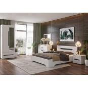 Модульный спальный гарнитур «Валенсия». Композиция №2
