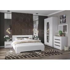 Модульный спальный гарнитур «Валенсия». Композиция №3