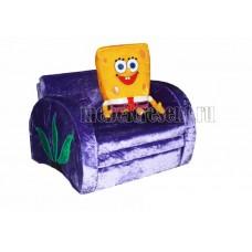 Детский диван «Губка Боб»