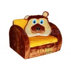 Детский диван «Мишка с мёдом»