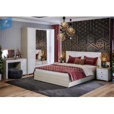 Модульный спальный гарнитур «Амели». Композиция №1