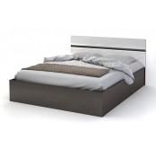 Кровать 1400 «Вегас» Белый глянец