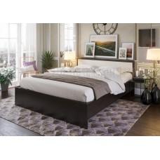 Кровать 1400 «Симфония» с матрасом Askona. Венге - Дуб Белфорт