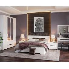Модульный спальный гарнитур «Валенсия». Композиция №1