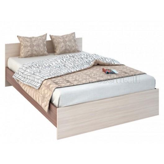 Кровать 0.9 «Бася КР 555» Шимо светлый - Шимо тёмный