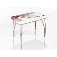 Стол обеденный 1200х800 «Агат - Орхидея»