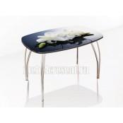 Стол обеденный 1100х700 «Лотос - Лилии»