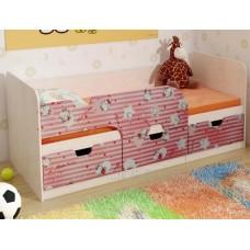 Детская кровать 0.8 «Минима» Дуб Атланта – Hello Kitty