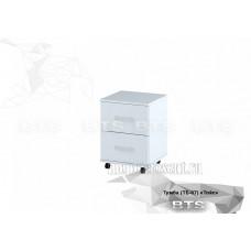 Тумба выкатная «ТОЙС ТБ-07» Белый