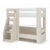 Кровать двухъярусная «Симба» Белый глянец